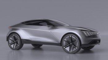 เกียขอโชว์ทีเด็ด ! รถสปอร์ต SUV พลังไฟฟ้ากับ Kia Futuron 2020