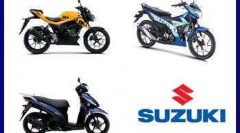 รวมฮิต Suzuki เปิดตัวมอเตอร์ไซค์ 2019 ตลอดทั้งปีมีทั้งหมดกี่รุ่น