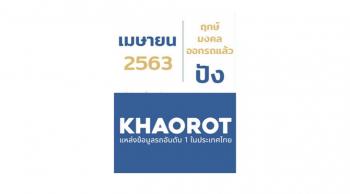ฤกษ์ออกรถ เมษายน 2563 ในเดือนปีใหม่ไทย