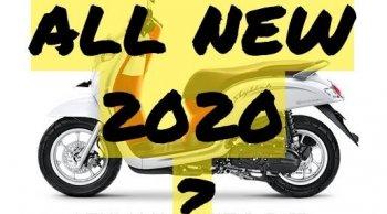 อินโดร่ำลือ All New Honda Scoopy i 2020 มาพร้อมเฟรมตัวถังใหม่