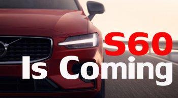 Volvo S60 T8 ปี 2020 โฉมใหม่ 407 แรงม้า เปิดตัว 1 ก.พ. 63 คาดราคา 2 ล้านต้น