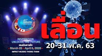 Motor Show 2020 เลื่อนอีกรอบ เป็นวันที่ 20-31 พ.ค. 63