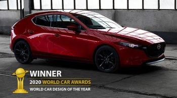 All-new Mazda 3 2020 คว้ารางวัลออกแบบยอดเยี่ยมปี 2020 จาก WCOTY