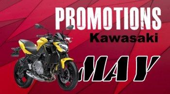 โปรโมชั่น Kawasaki พฤษภาคม 2563