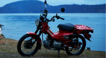 ราคาและตารางผ่อน ดาวน์ Honda CT125