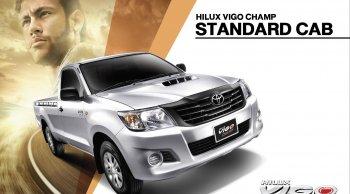 [Vigo]Toyota Hilux Vigo Standard Cab โตโยต้า วีโก้ รุ่นและราคา ตารางผ่อน ดาวน์