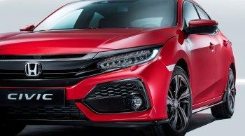เข้าไทยแน่ Honda Civic Hatchback 5 ประตู 2017