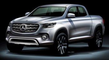 มาแน่ปี 2018 รถกระบะรุ่นแรก จากเมอร์เซเดส เบนซ์ Mercedes-Benz GLT