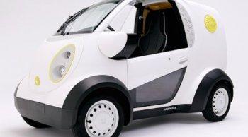 ฮอนด้าเผยโฉมรถไฟฟ้าคันแรกใช้เทคโนโลยี 3D-printed