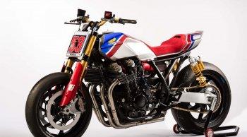 เผยโฉม 2 มอเตอร์ไซค์ต้นแบบ Honda CB1100TR & Honda Africa Twin Enduro