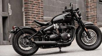เปิดตัว Triumph Bobber Bonneville Black และ Bonneville Speedmaster สองรุ่นรวด