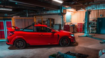 สุดติ่ง!! แปลง Honda Civic Type R เป็นรถกระบะ
