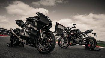 """""""ไทรอัมพ์ มอเตอร์ไซเคิลส์"""" เตรียมโชว์มอเตอร์ไซค์ต้นแบบ Moto2 TM  ในงาน British Grand Prix"""