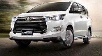 ราคา Toyota Innova Crysta 2019 ล่าสุด ตารางราคา-ผ่อน-ดาวน์ Toyota Innova Crysta 2019