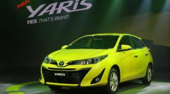 ราคาและตารางผ่อนรถ Toyota Yaris 2019