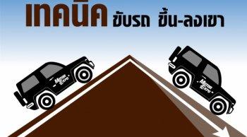วิธีขับรถขึ้น-ลงเขา ทางลาดชันอย่างไรให้ปลอดภัยไร้อุบัติเหตุ