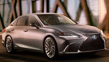 Lexus ES 2018 เพิ่มความสบายระดับเฟิร์สคลาส