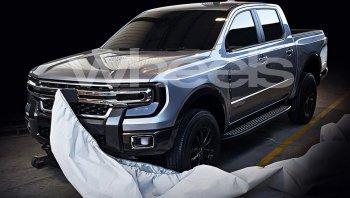 สื่อออสซี่ปล่อยภาพหลุดรถที่คาดว่าจะเป็น Ford Ranger 2020