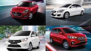 """โปรโมชั่น SUZUKI : """"ออกรถ SUZUKI ทุกรุ่นวันนี้รับส่วนลดอุปกรณ์ตกแต่งมูลค่าสูงสุด 60,000 บาท"""""""