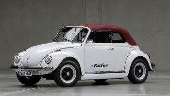 Volkswagen e-beetle เต่ากินไฟ ขุมพลังมอเตอร์ไฟฟ้า
