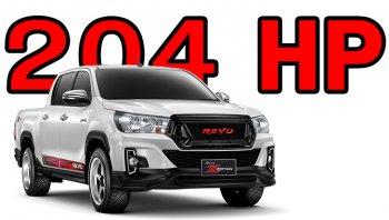 Toyota Hilux Revo 2020 อัปเกรด ECU เพิ่มพลังแตะระดับ 204 แรงม้า