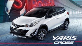 New Toyota Yaris Cross 2020 ชุดแต่งใหม่สไตล์ครอสโอเวอร์ยกสูง