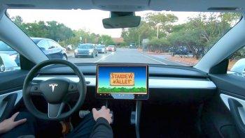 นี่มันรถดูดวิญญาณ รถยนต์ไฟฟ้า Tesla เพิ่มเกม Stardew Valley