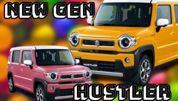 ก้าวสู่ยุคใหม่ Kei Car สุดน่ารัก Suzuki Hustler 2020 ราคา 3.79 แสนบาท