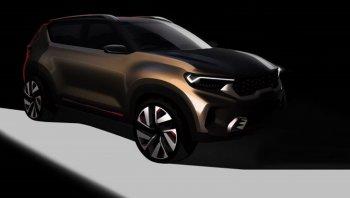 Kia Compact SUV Concept 2020 เตรียมเดบิวต์งาน Auto Expo2020