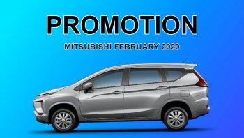 โปรโมชั่น Mitsubishi กุมภาพันธ์ 2563