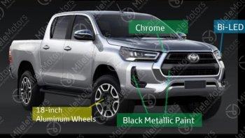 Toyota Hilux Revo 2020 ใหม่ปรับโฉม กับภาพเซตใหม่รอบคันก่อนเปิดตัว