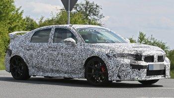 Honda Civic 2021 โฉมใหม่ เริ่มวิ่งทดสอบในต่างประเทศ