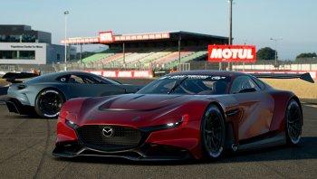 Mazda RX-Vision GT3 Concept ลง PS4 และอาจเป็นเงาของ RX-9