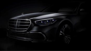 Mercedes-Benz S-Class 2021 เผยโฉมหน้าจริงในทีเซอร์
