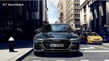 ราคาและตารางผ่อน ดาวน์ Audi A7 Sportback