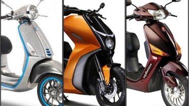 พาชมสกูตเตอร์ไฟฟ้าในงาน Auto Expo 2020 ที่อินเดีย