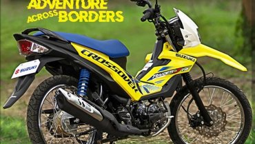 Suzuki Raider-J Crossover การจับกะเทยมาแปลงวิบาก