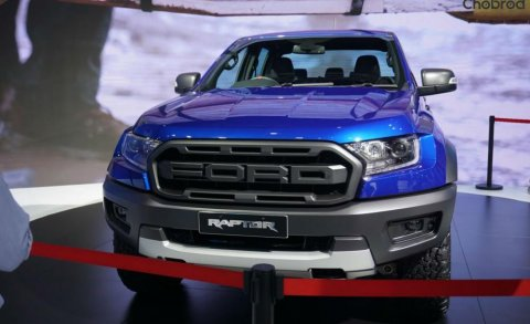Ford Ranger Raptor ในงาน Bangkok international motor show 2018