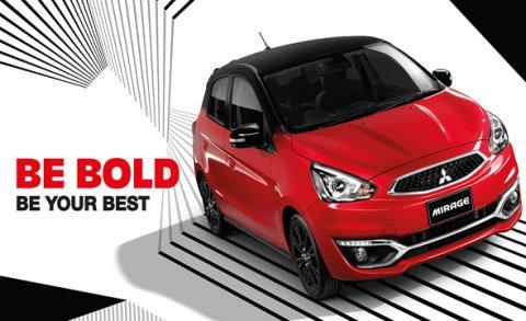 โปรโมชั่นสุดโดนใจกับ All New Mitsubishi Mirage Limited Edition ให้ความสนุกทุกการขับขี่