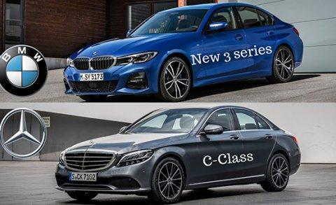 เทียบระหว่าง BMW 3 Series 2019 กับ Mercedes-Benz C-Class