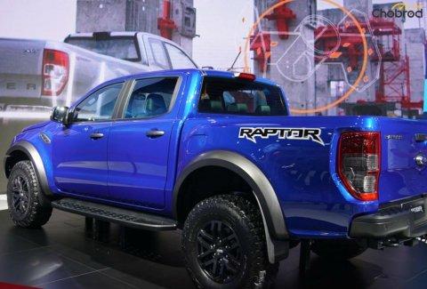 ด้านหลัง Ford Ranger Raptor