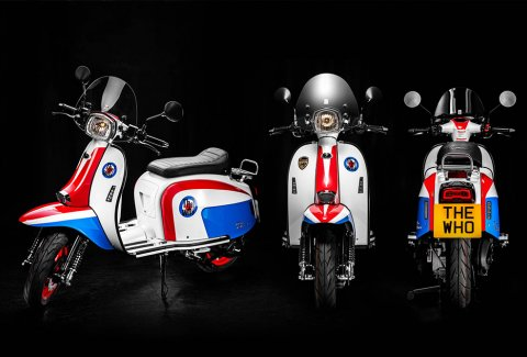 Scomadi TT125i และ TT200i The Who Limited Edition สกู๊ตเตอร์เรโทรไสตล์ 'คัล'