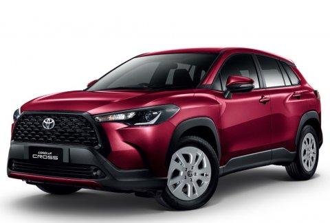ราคาและตารางผ่อน ดาวน์ Toyota Corolla CROSS 2020