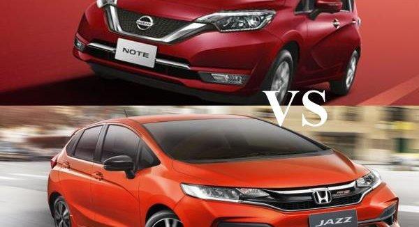 เทียบกันจะๆ ระหว่าง Nissan Note 2018 กับคู่แข่ง Honda Jazz 2018 ใครคือตัวจริงของรถ Hatchback