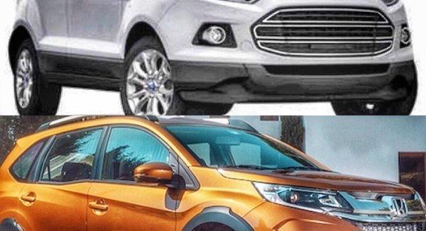เทียบกันแบบสะใจระหว่าง Ford Ecosport 2018-2019 กับคู่แข่ง Honda BR-V 2018-2019 อันไหนดีอันไหนโดนมาดูกัน!!