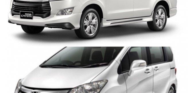 ใส่กันแรงๆตัดกันชัดๆระหว่าง Toyota Innova 2018-2019 กับคู่แข่ง Honda Freed 2018-2019