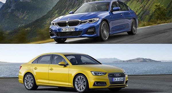 เทียบ Compact Car สุดหรู ระว่าง BMW 3 Series  กับ Audi A 4 2019 เสปคคันไหนจะชนะใจสาวก