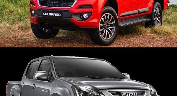 สู้กันซักตั้ง -เทียบเสปคกระบะพันธุ์แรงแดนมะกัน Chevrolet Colorado 2019 กับ กระบะเจ้าตลาดเมืองไทยอย่าง ISUZU D-Max 2019