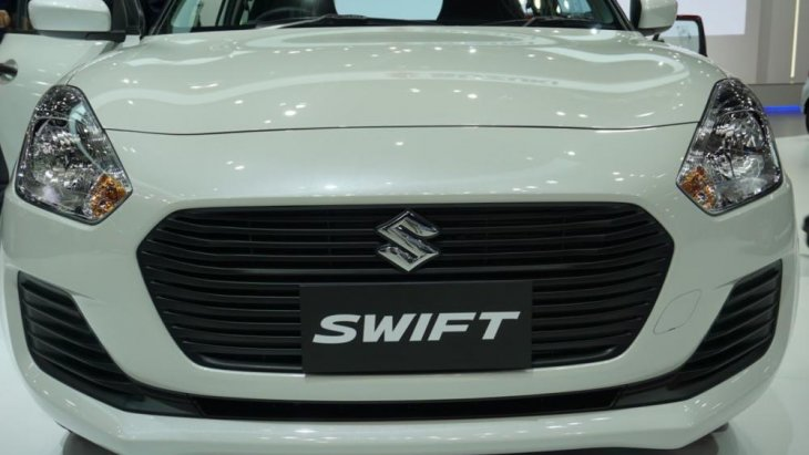 ด้านหน้า Suzuki Swift 2018