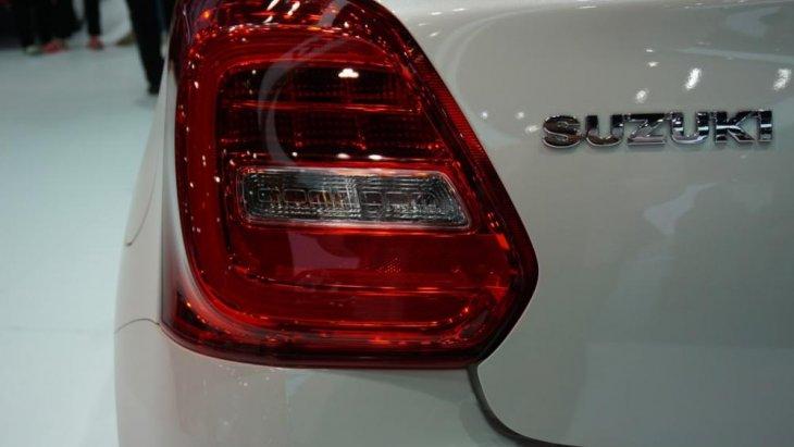 ด้านหลัง Suzuki Swift 2018